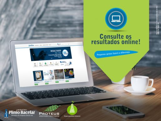 Consulte os exames on-line!